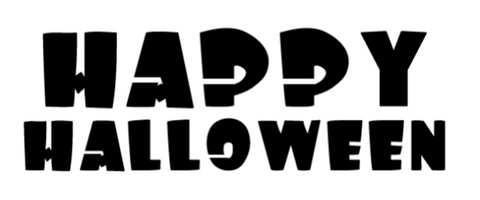 This one simply says it all. Happy Halloween!