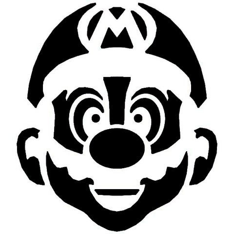 The Mario Bros. are having a major comeback, and we are totally loving it! Keep the feels going with this fun carving template.