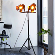 Industrial Retro tripod single or double head floor lamp | Floor Lamp | | The Brand Decò