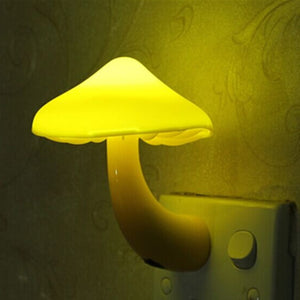 Warm Mushroom LED Night Light Room Decor | The Brand Decò
