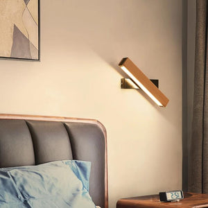 Nordic Wooden LED Wall Lamp | The Brand Decò