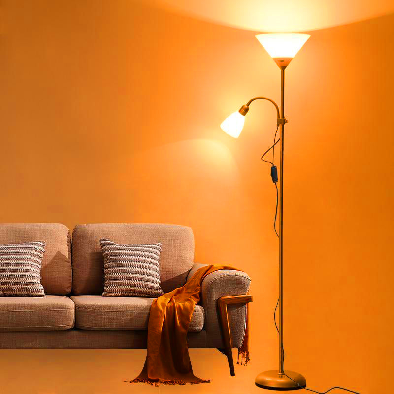 Modern Nordic 2-Lights Floor Lamp | The Brand Decò