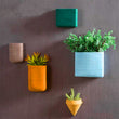 Creative Nostalgic Geometric Ceramic Flower Pot | Pot | | The Brand Decò