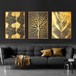 Black And Gold wall art Canvas | Painting | | The Brand Decò