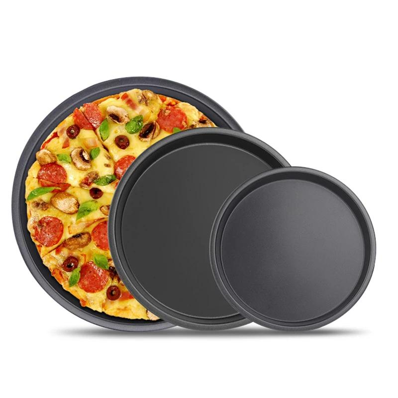 Premium Non-Stick Pizza Pan Bakeware Carbon Steel Pizza Plate | The Brand Decò