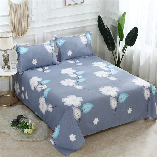 Bed Set 1 Pc Bed Sheet + 2 Pillowcase | The Brand Decò
