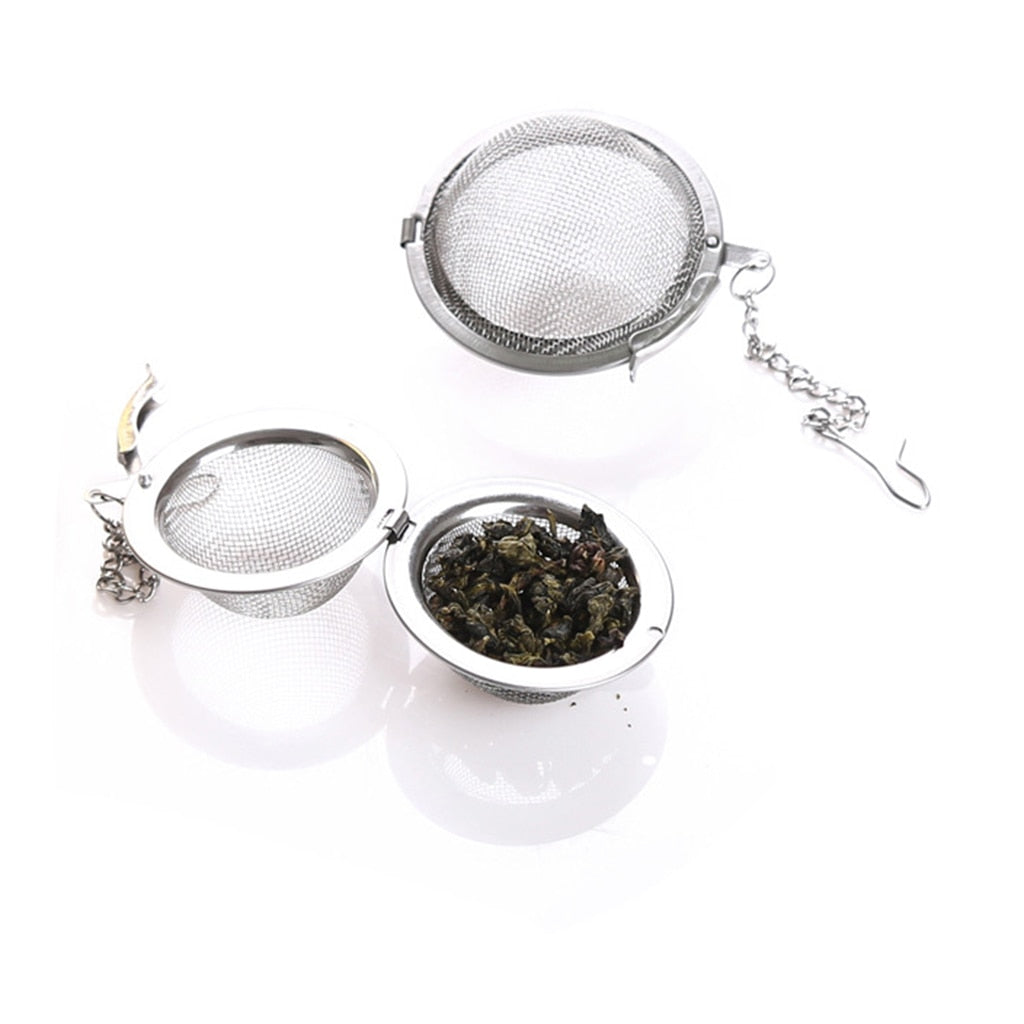 Stainless Steel Tea Infuser Sphere Locking Spice Tea Ball | The Brand Decò