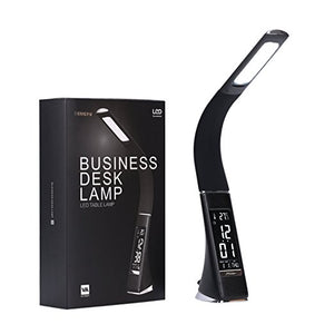 LED Office Desk Lamp Touch Leather-Like | The Brand Decò