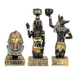 Resin Figurines Candleholder Retro Ancient Egyptian Goddess Sphinx Anubis | Deco | | The Brand Decò