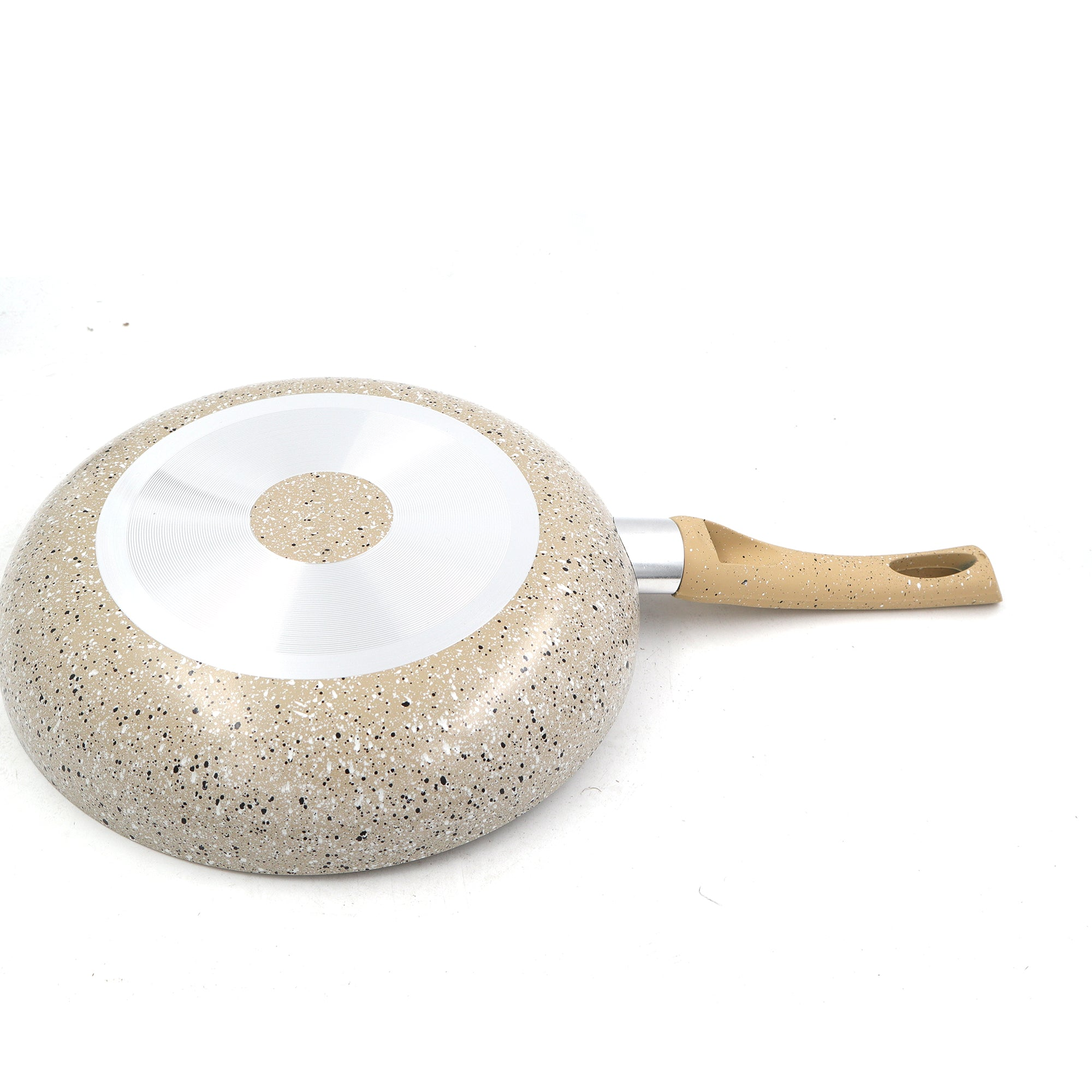 Beige Granite Color Marble Coating | Nonstick Frying Pan | The Brand Decò