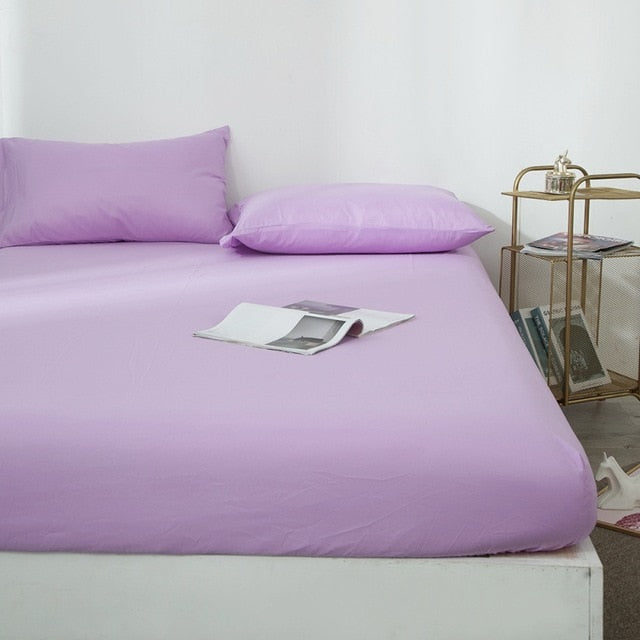 Fitted Sheet Mattress | Cover Solid Color | The Brand Decò