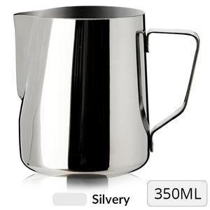 Stainless Steeel Milk Frothing Pitcher 350ml Black Rainbow | The Brand Decò