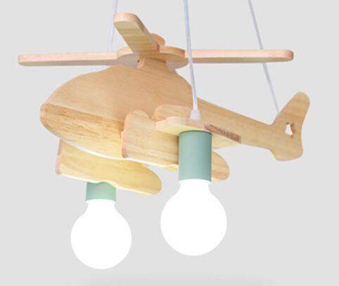 Helicopter Pendant Light for Children