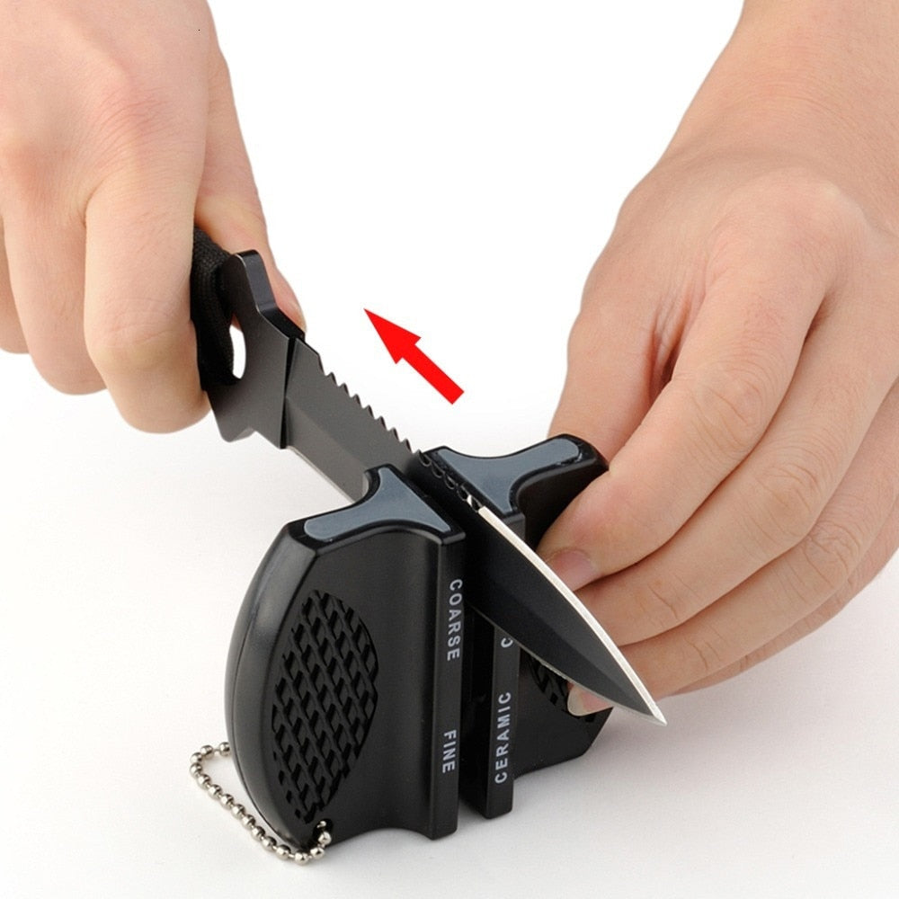 Mini 2 Stages Professional Knife Sharpener - The Brand Decò