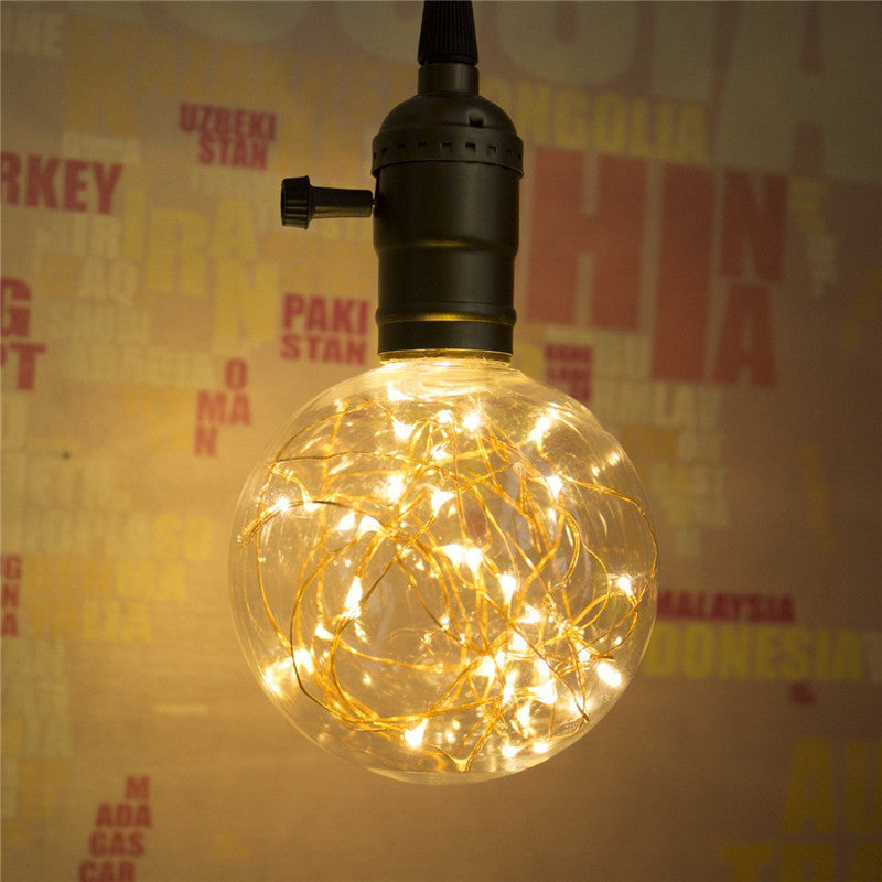Vintage LED Bulb E27 220V 110V LED String Filament | The Brand Decò