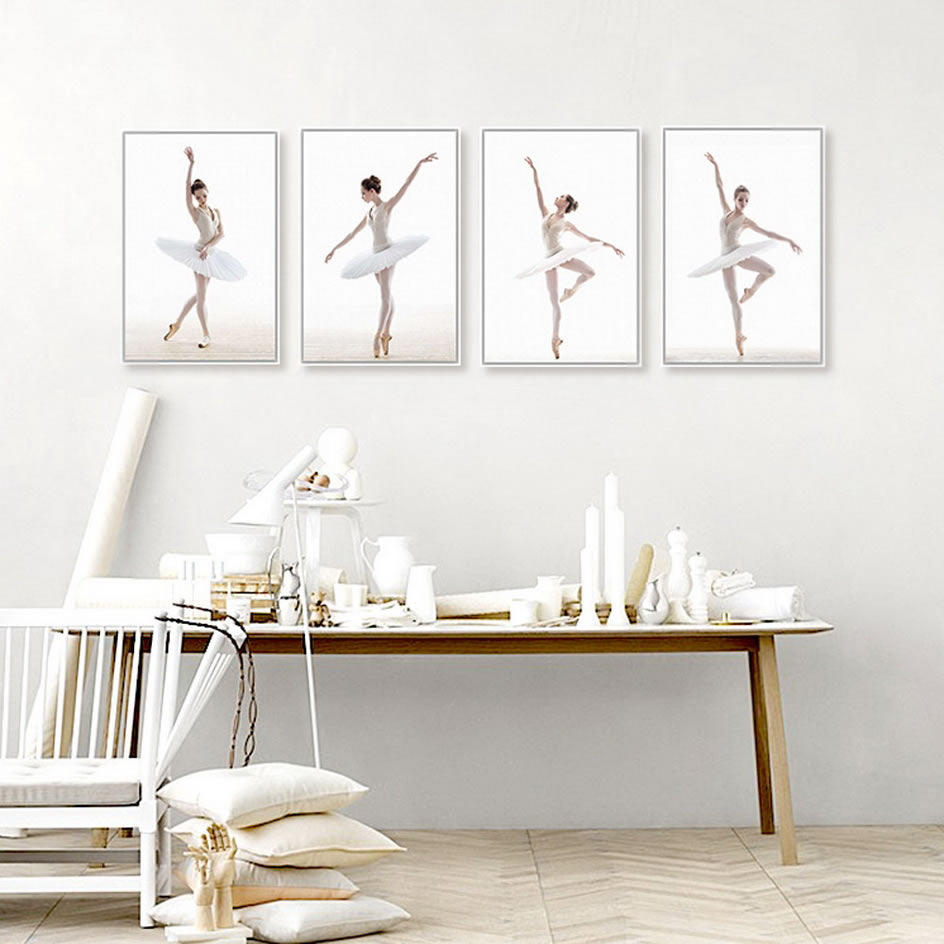 Ballet Dancer Wall Picture Canvas | The Brand Decò