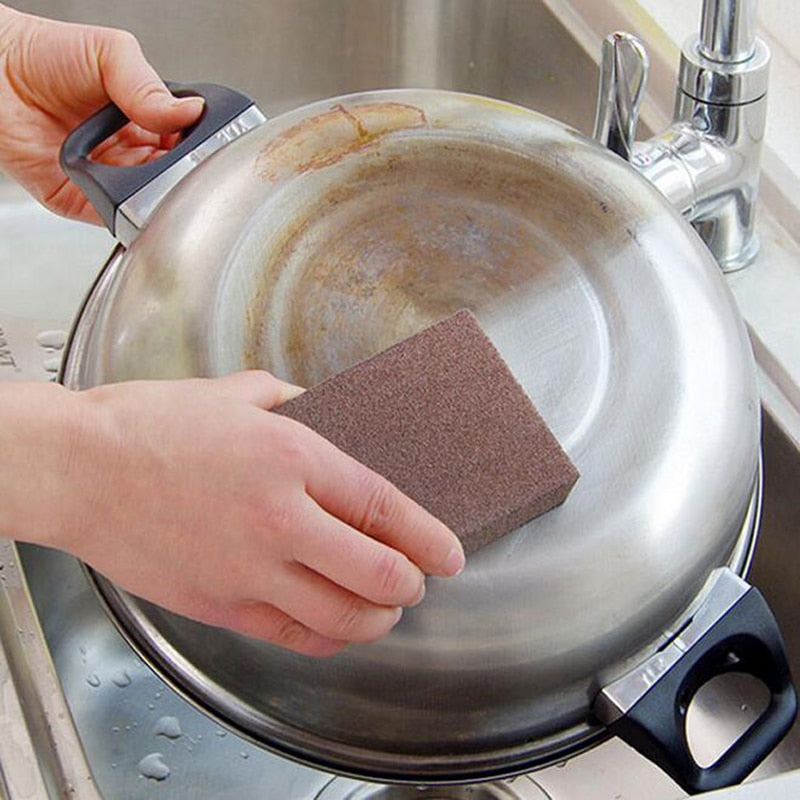 Nano Cleaning Sponge Magic Eraser for Removing Rust | The Brand Decò