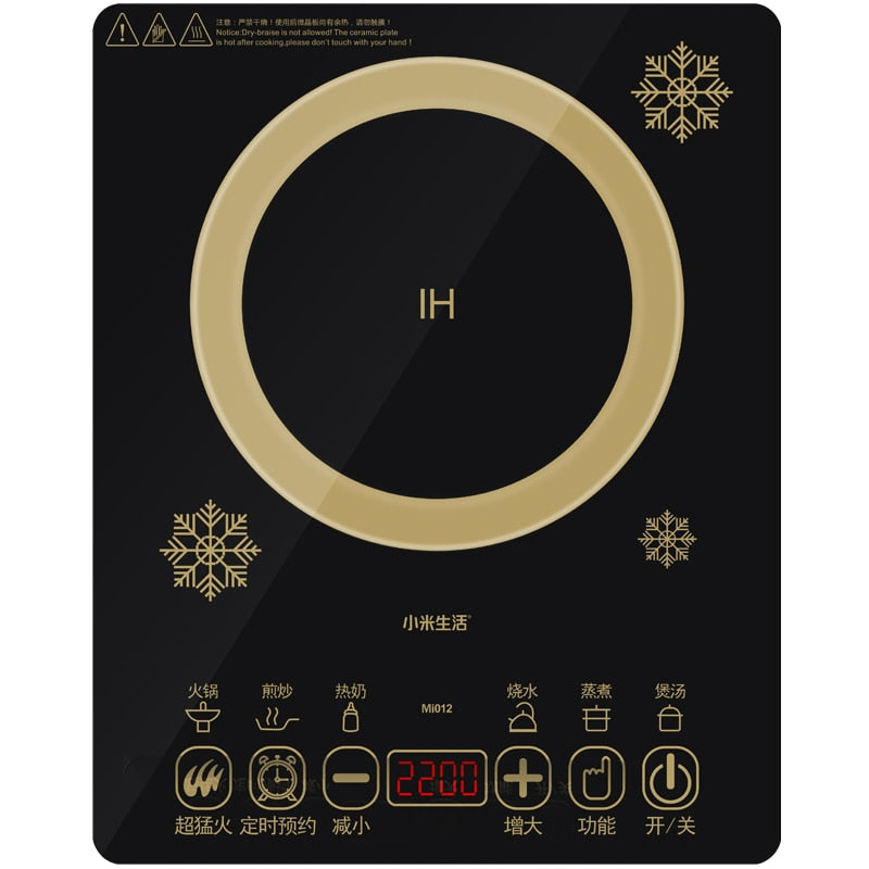 Intelligent Electric Touch Induction Cooker | The Brand Decò