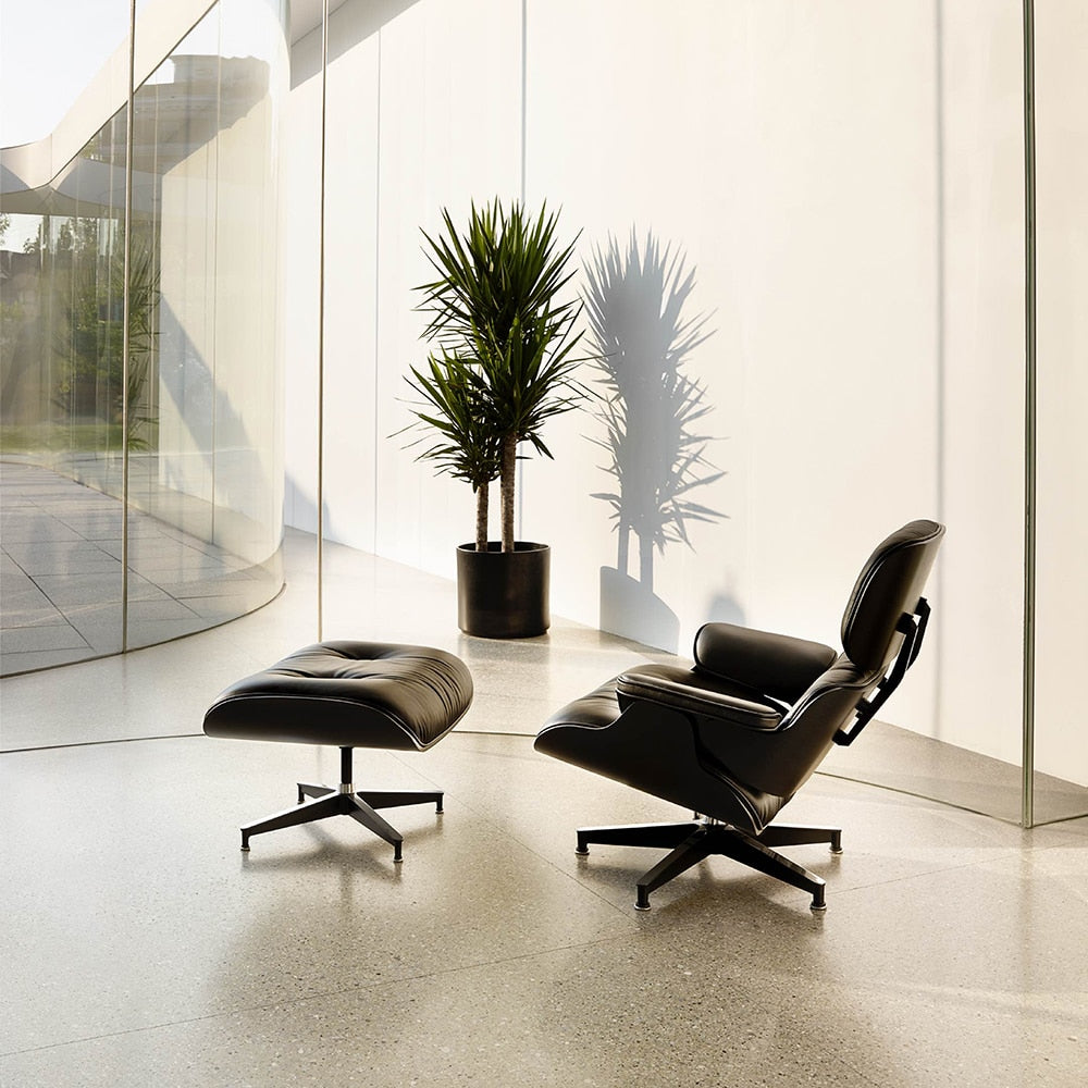 Luxury Eames Lounge Chair and Ottoman Triple-A Replica | The Brand Decò