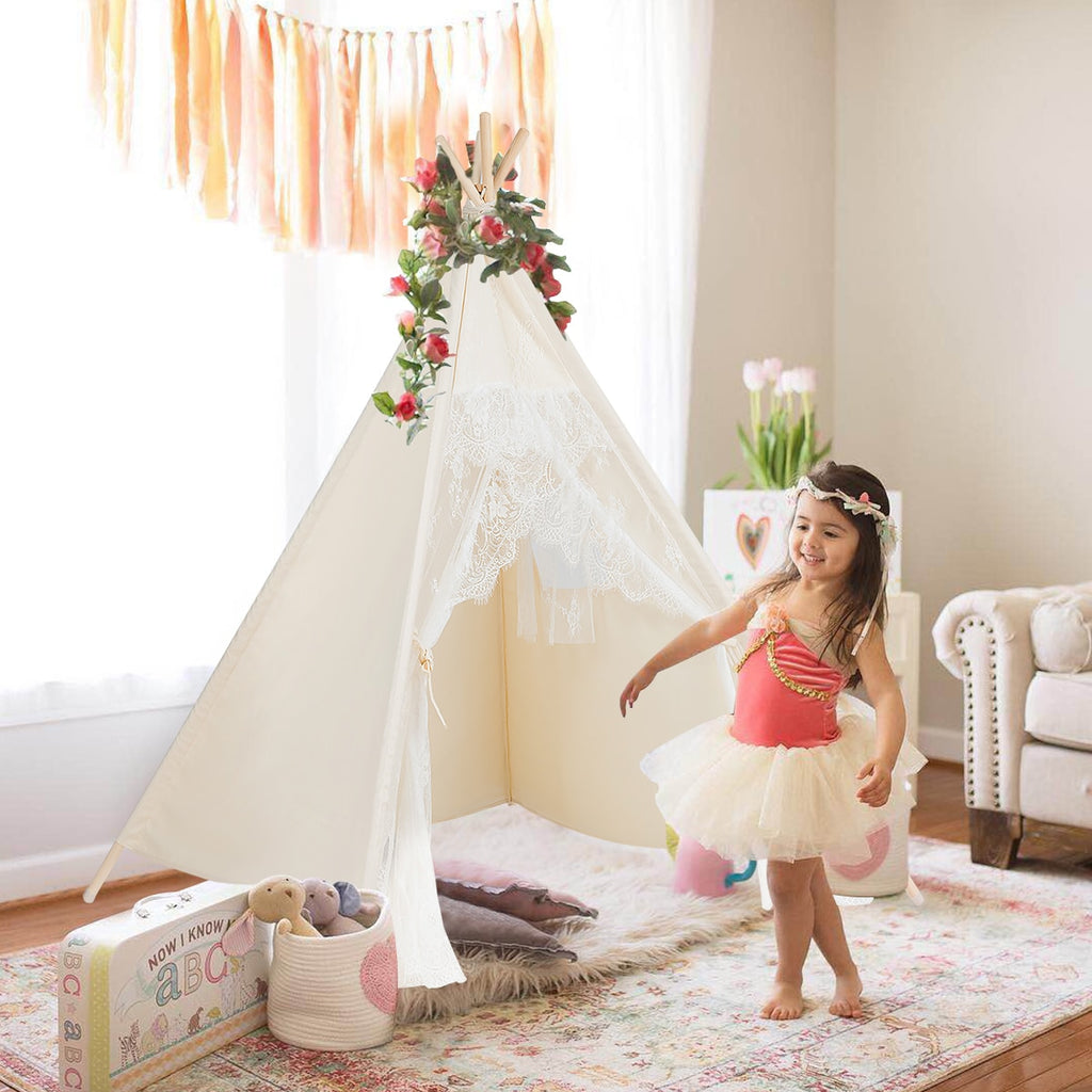 Teepee Cotton Children's Tent Kids Play House | The Brand Decò
