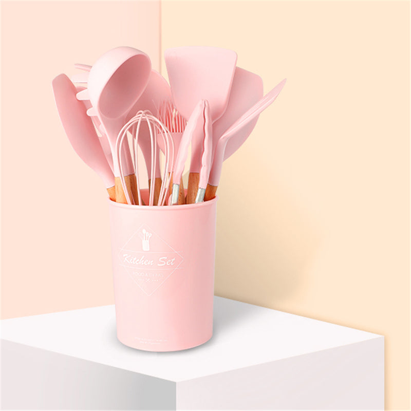 Pink Silicone Cooking Set | The Brand Decò