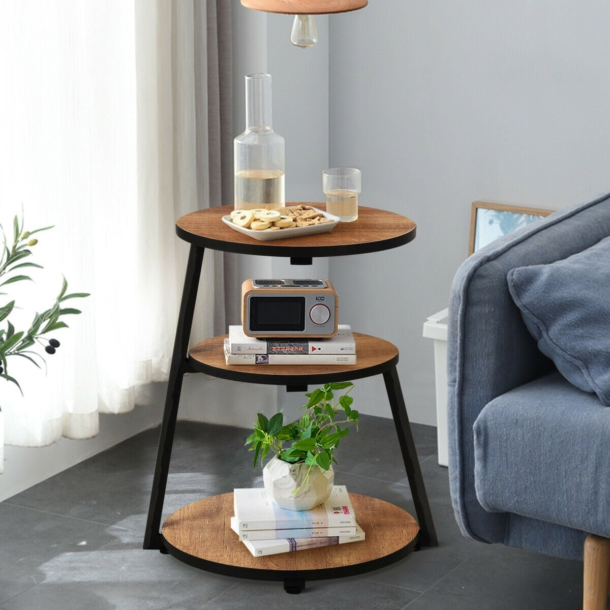 Nordic Round 3-Tier Coffee Table | The Brand Decò