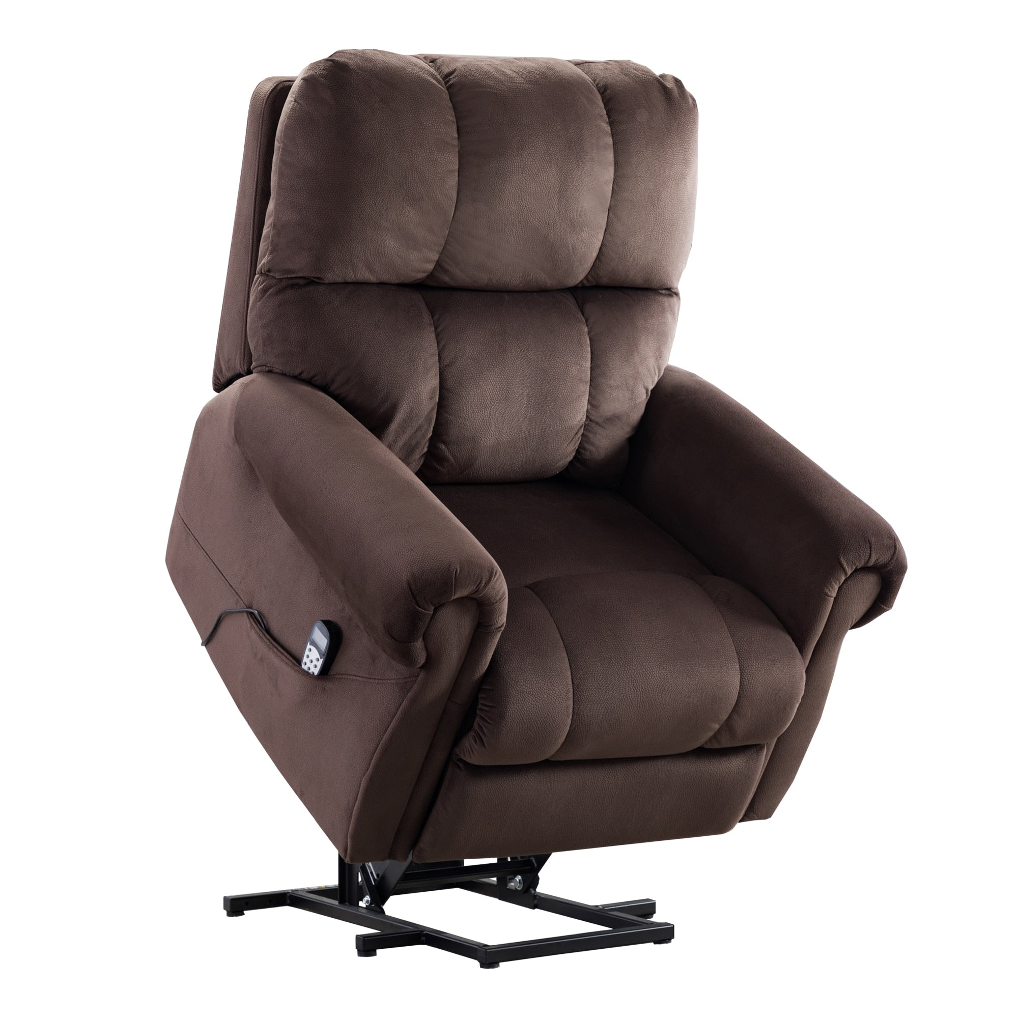 Premium Electric lift recliner with heat therapy and massage suitable for the elderly heavy recliner with padded arms Massage Sofa | The Brand Decò