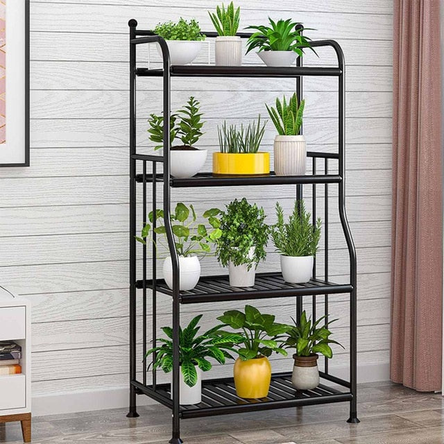 4 Tiers Iron Rack for Bathroom or Kitchen | The Brand Decò