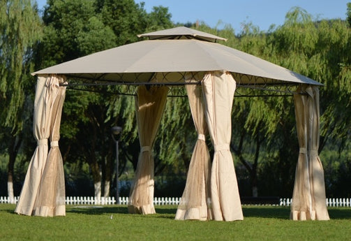 Premium Gazebo Double Tiered Grill Canopy | The Brand Decò
