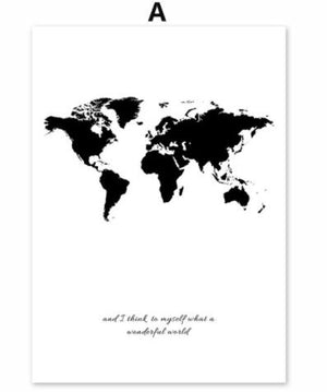World Map & Do Canvas | The Brand Decò