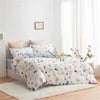 Rita Cartoon Cotton Fitted Sheet Duvet Cover Set