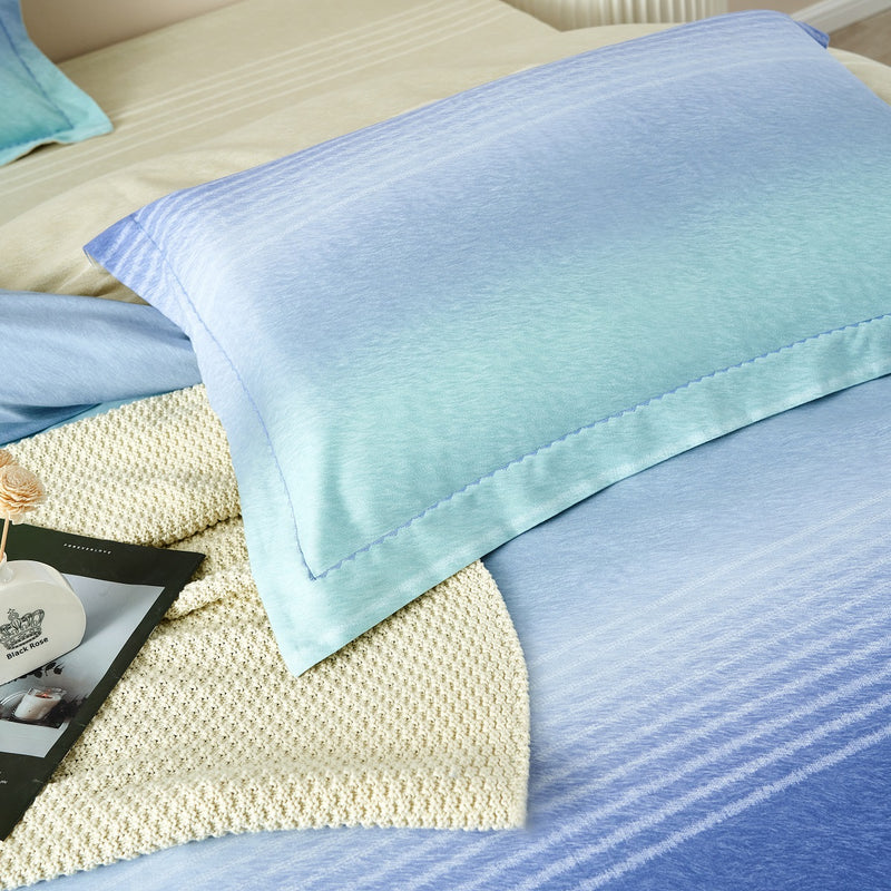 Albert Solid Brushed Cotton Fitted Sheet Set