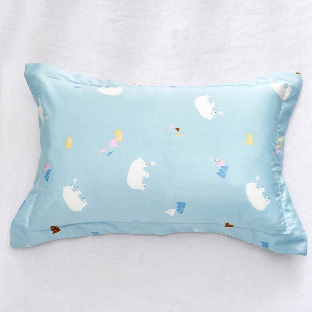Baby Brave Bear Cartoon Cotton Pillow Sham