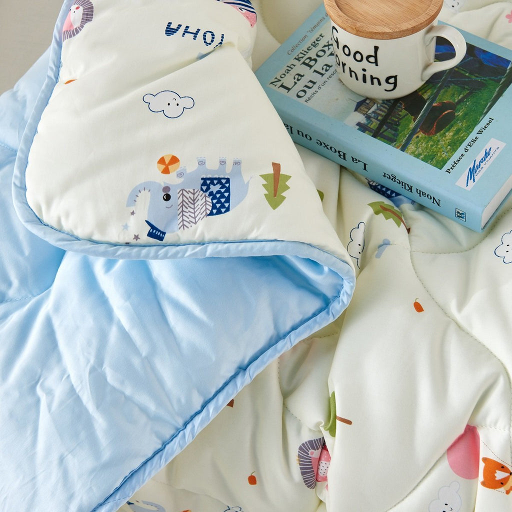 Baby Forest Party Cartoon Cotton All Season Comforter