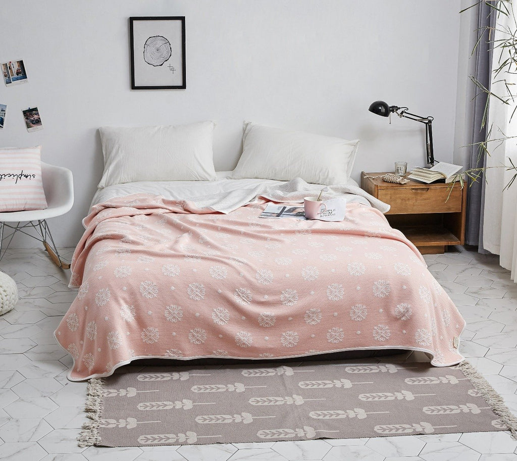 Filis Pattern Cotton Summer Blanket
