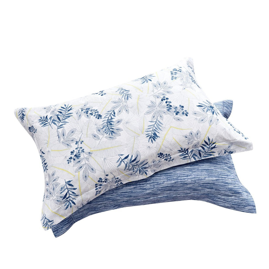 Landy Floral Cotton Pillow Sham Set