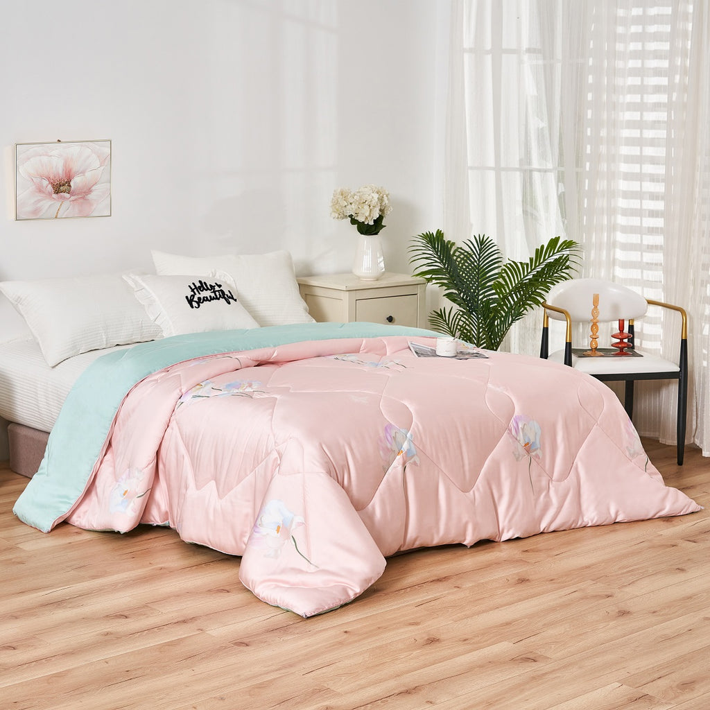 Lilith Floral TENCEL™ Lyocell All Season Comforter