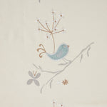 Lively Cuckoo Cartoon Chenille Curtain