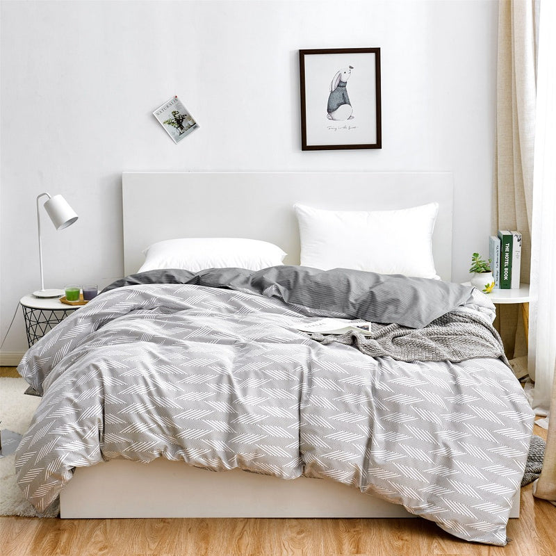 Mark Pattern Cotton Duvet Cover