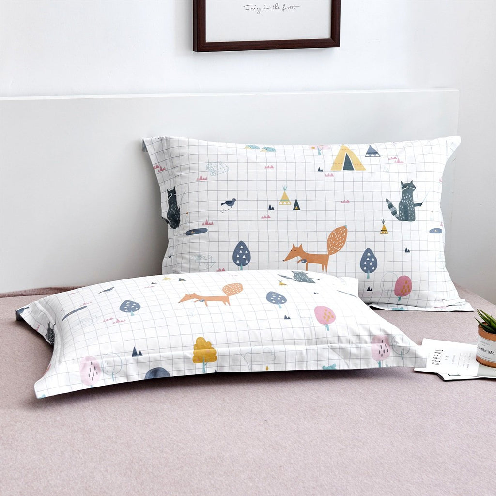 Nick Cartoon Cotton Pillow Sham Set
