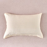 Pale Yellow Dots Cotton Pillow Sham Set