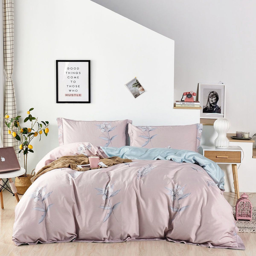 Queenie floral Long Staple Cotton Bedspread Set