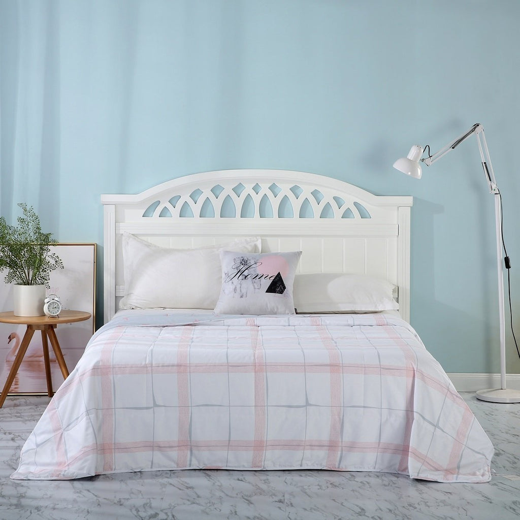 Reese Plaid Cotton Light Comforter