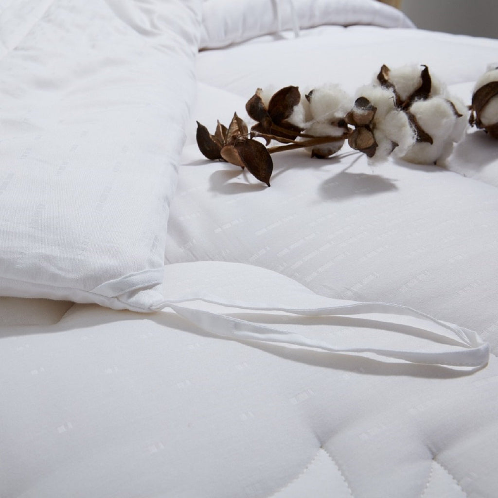 Solid White Cotton Filled Warm Duvet Insert