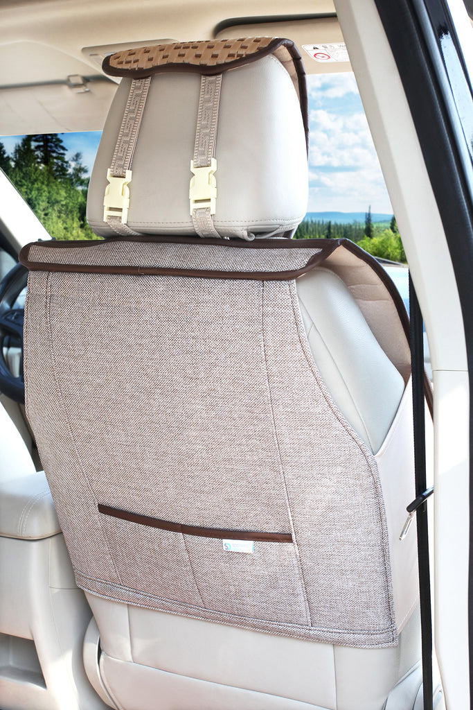 Soothing Drive Grand Tour Polyester Front Car Seat Cover