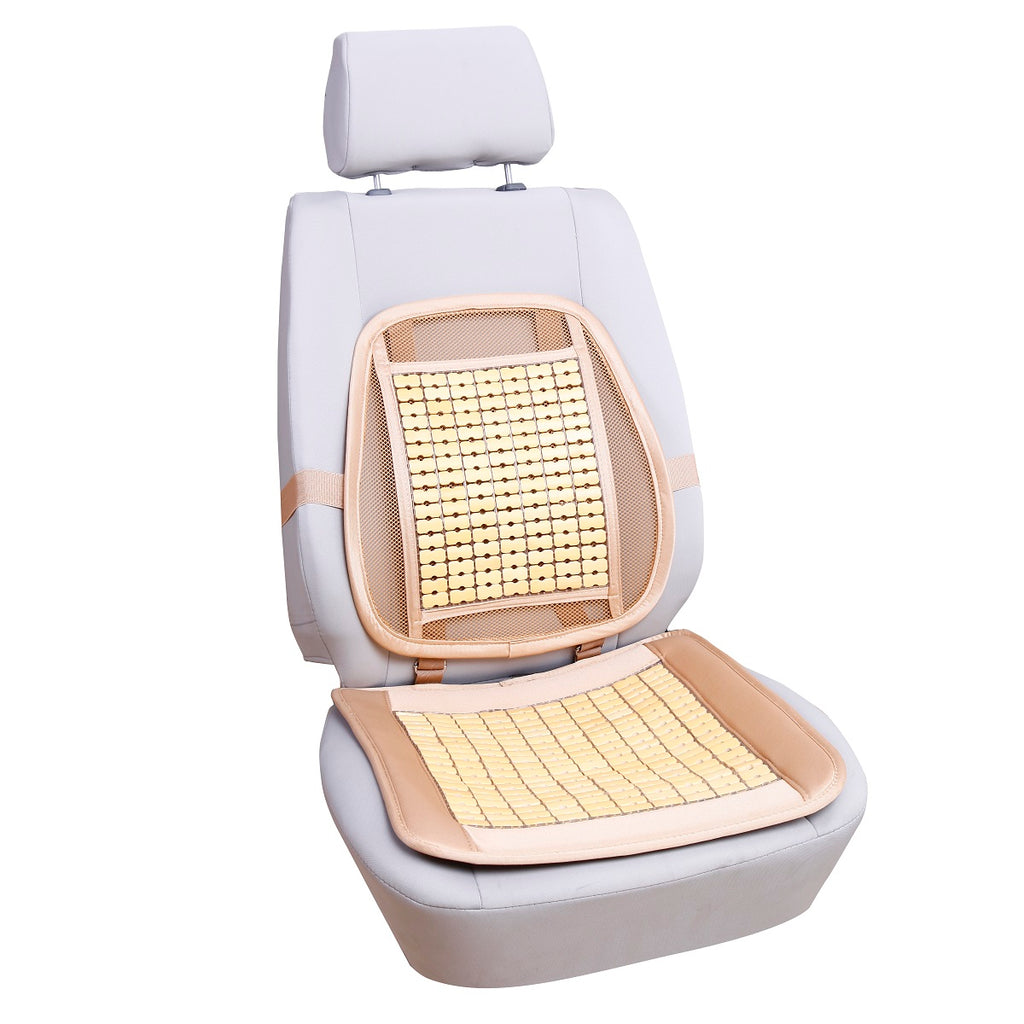 Soothing Drive Lumbar Support Mahjong Seat Cover
