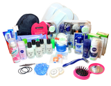54 Items in 2 for Men&Woman - Travel Toiletries Set by Settinies