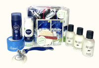 25 Items in 1 for Men Travel Toiletries Set by Settinies