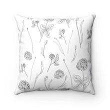 Load image into Gallery viewer, Spun Polyester Square Pillow Clover