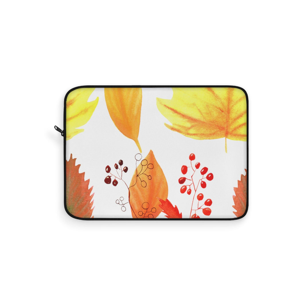 Laptop Sleeve Autumn Leaves and Branches